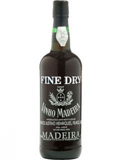 Henriques Justino's Fine Dry Madeira 0.75 L