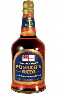 Pusser's 40.0 % Original Admiralty British Navy Rum 0.7 L Blue Label