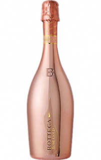 Bottega Rose Gold Vino Spumante Pinot 0.75 L