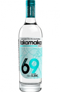 Takamaka Bay White 69 High Proof Rum 0.7 L