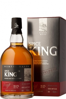 Wemyss Malts Spice King Batch Strength Whisky 0.7 L Blended Malt Scotch Batch 002