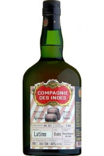 Compagnie Des Indes Latino Rum 0.7 L Finished in Vosne-Romanee Single Cask