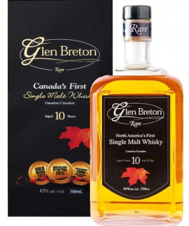 Glen Breton 10 Jahre Rare Single Malt Whisky 0.7 L