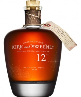 Kirk and Sweeney 12 Jahre Dominican Rum 0.7 L