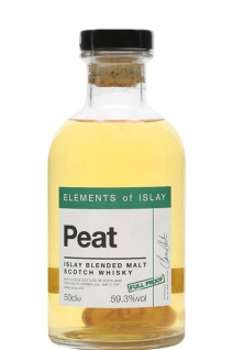 Elements of Islay Peat Blended Malt Speciality Drinks 0.5 L Full Proof Whisky
