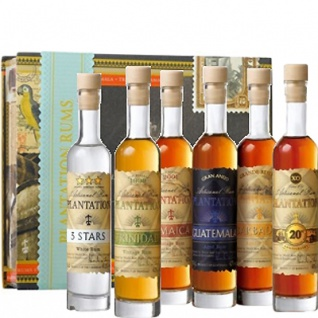 Plantation Experience Artisanal Grand Terroir Rum Set 6x 0.1 L