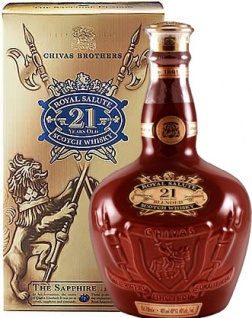 Chivas Regal 21 Jahre Royal Salute Whisky 0.7 L Rot