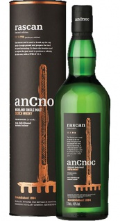 anCnoc Rascan Whisky peated 11.1ppm 0.7 L