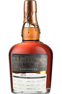 Dictador Best of 1987 Extremo Colombian Rum 0.7 L Cask Ex - B 528