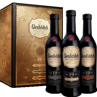 Glenfiddich 19 Jahre Age of Discovery 3x 0.2 L Madeira. Bourbon & Red Wine Cask Finish