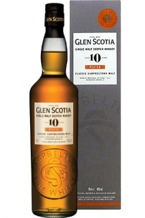 Glen Scotia 10 Jahre Heavily Peated Whisky 0.7 L