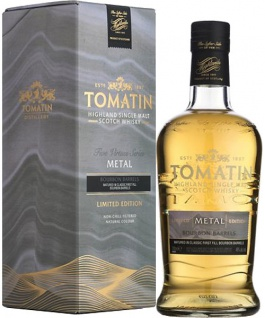 Tomatin Five Virtues The Metal Edition Whisky 0.7 L