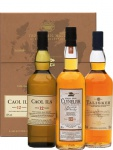 The Classic Malts COASTAL Collection 3x 0.2 L Beige Whisky Box