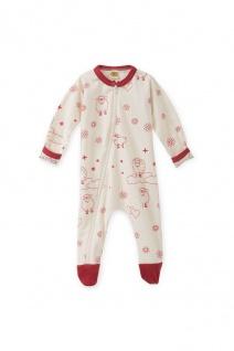 Baumwoll-Schlafanzug Einteiler