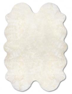 Lammfell Teppich aus 4 Fellen