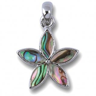 Pauamuschel Kette Blüte