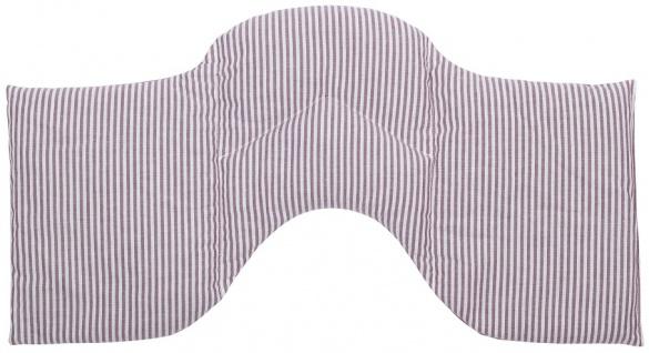 4-Kammer Schulterkissen Raps/Lavendel