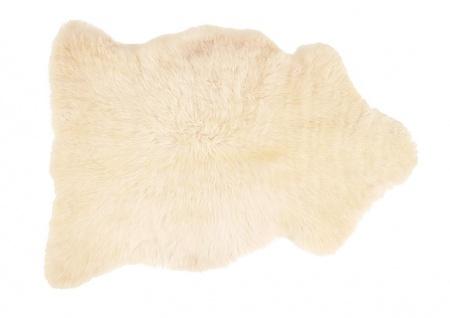 Lammfell langhaarig beige 110-120cm
