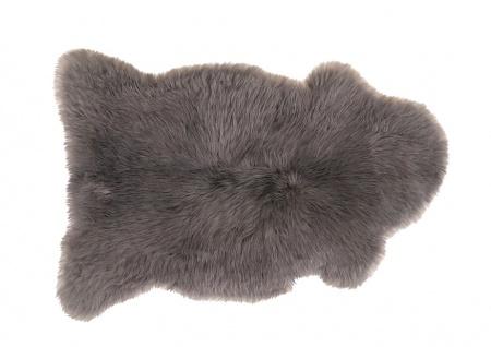 Lammfell langhaarig grau 110-120cm