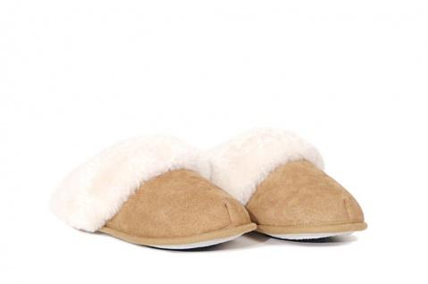 Damen-Pantoffeln mit rutschhemmender Sohle
