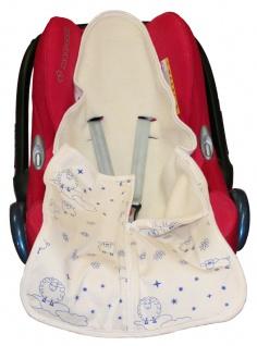 Baby-Safe-Säckchen aus Wollplüsch - Vorschau 4