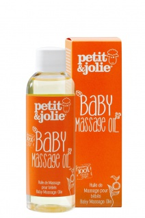 Baby Massageöl 100ml von Petit & Jolie