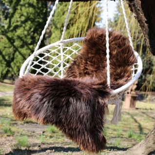 Lammfell - NATUR FARBEN - grizzly