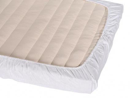 Bio-Baumwolle-Jersey-Spannbettlaken für 60 x 120 cm sowie 70 x 140 cm