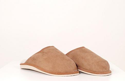 Herren-Pantoffeln mit fester Sohle