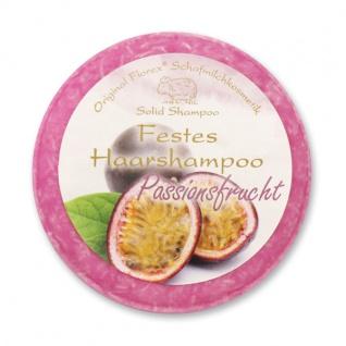 Festes Haarshampoo - Passionsfrucht