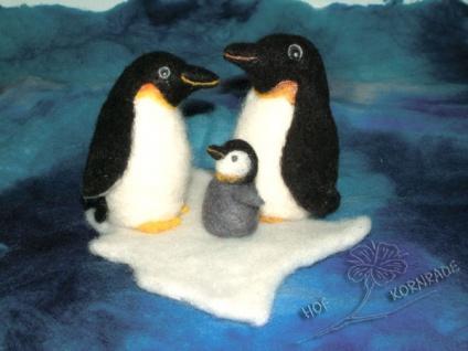 "Nassfilzpack "" Pinguinfamilie """