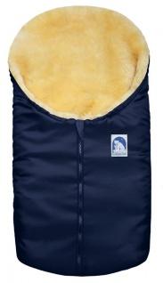 Lammfell-Fußsack für Babyschale und Kinderwagen - Vorschau 5
