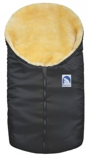 Lammfell-Fußsack für Babyschale und Kinderwagen