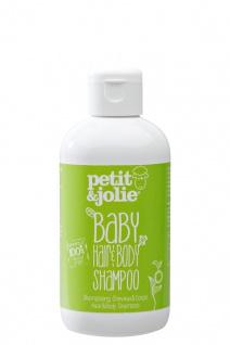 Baby Hair & Body Shampoo 200ml von Petit & Jolie - Vorschau