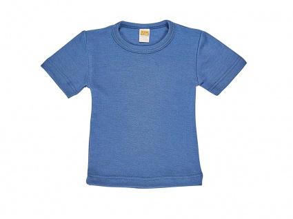 Kinder-Hemdchen 1/4 Arm aus Wolle/Seide