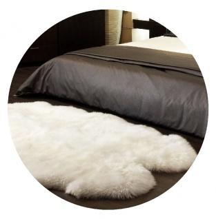 Lammfell Teppich aus 4 Fellen - Vorschau 2