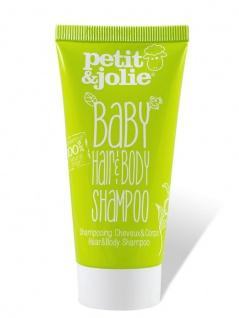 Baby Hair & Body Shampoo 50ml von Petit & Jolie