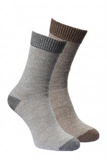 Alpaka-Socken LINEA 2-er Pack