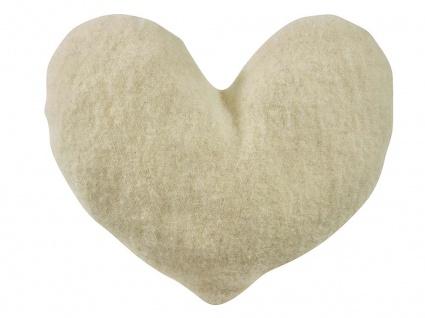 Herzkissen aus Wolle