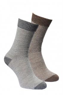 Alpaka Socken LINEA 2-er Pack Kinder