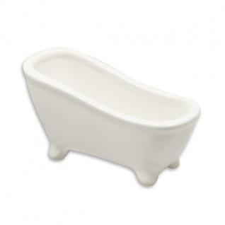 Keramik-Badewanne mini 12x6cm