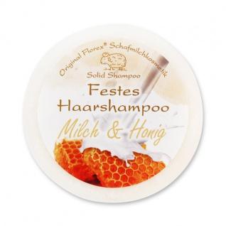 Festes Haarshampoo - Milch & Honig