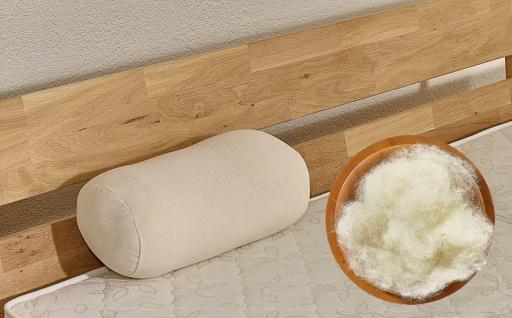 Nacken -/ Knierolle mit Wolle
