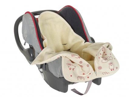 Baby-Safe-Säckchen aus Wollplüsch - Vorschau 2