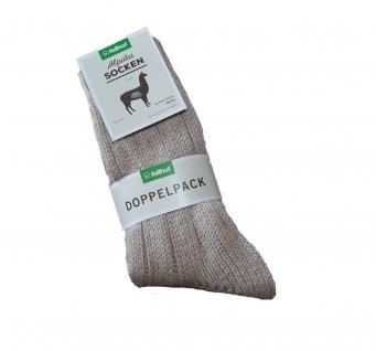 Alpaka Socken DICK 2-er Pack