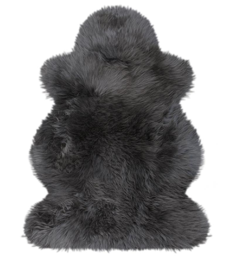 geschorenes Lammfell ca 29,5x19 cm Warmer Lammfell Pelzmuff hellgrau mit Rei/ßverschlusstasche waschbar