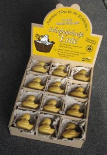 Schafsmilchseife Ente gelb