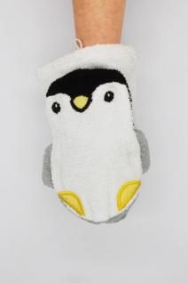 BIO Waschlappen für Erwachsenenhände, Pinguin Philipp