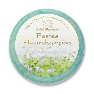 Festes Haarshampoo - Frischeerlebnis