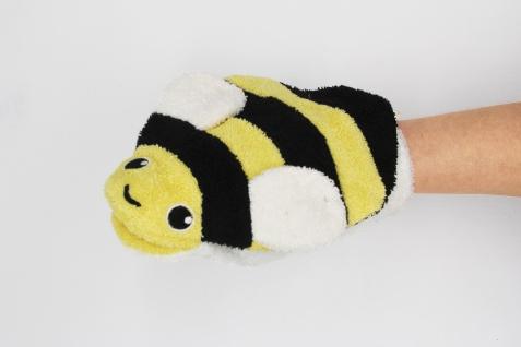 BIO Waschlappen für Erwachsenenhände, Biene Bea